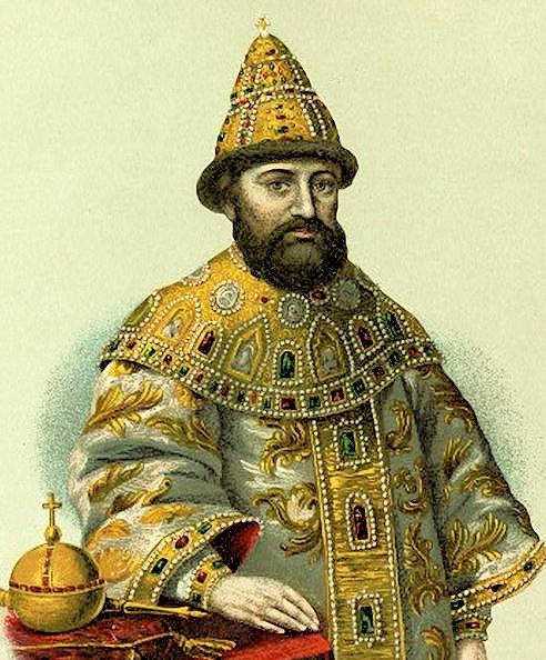 ロシアのロマノフ王朝最初の皇帝ミハイル・ロマノフ