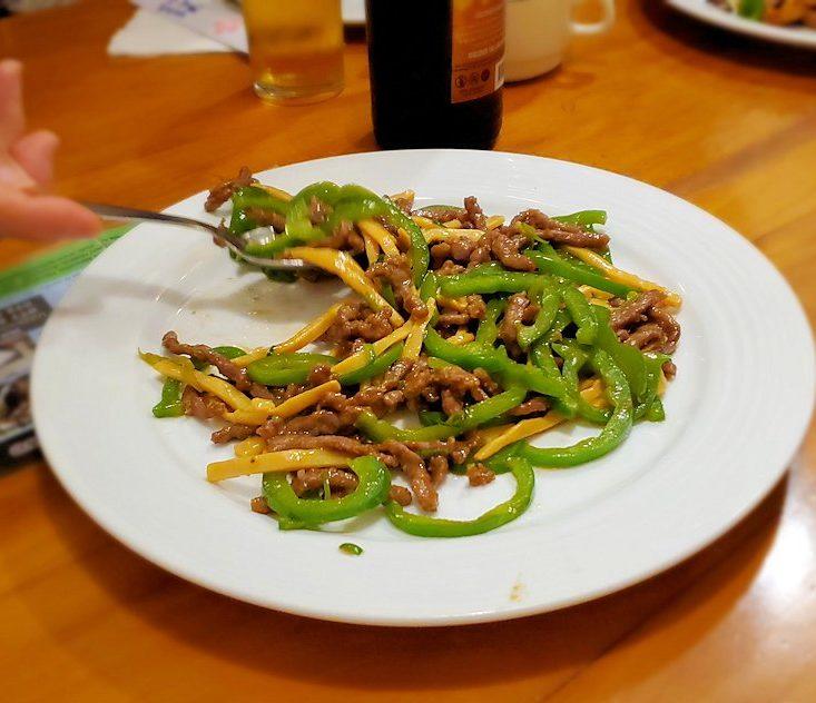 レストランの「SAKURA(さくら)」で出てきた中華料理-2