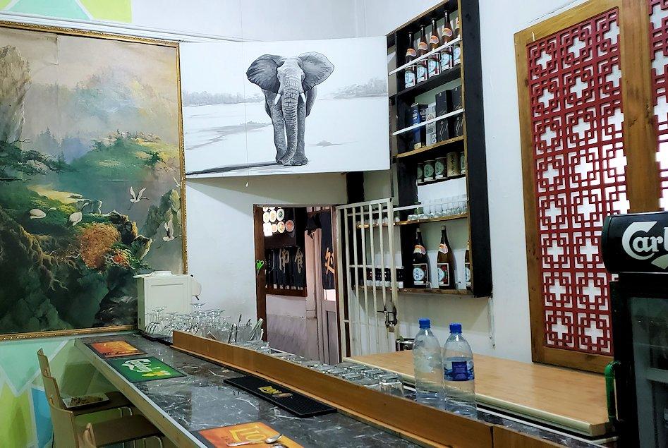 レストランの「SAKURA(さくら)」内の景色
