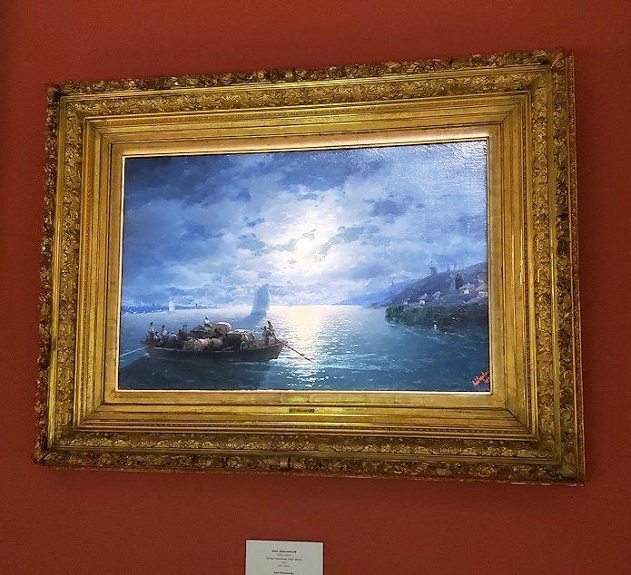 ファベルジェ美術館で絵画が飾られていた部屋