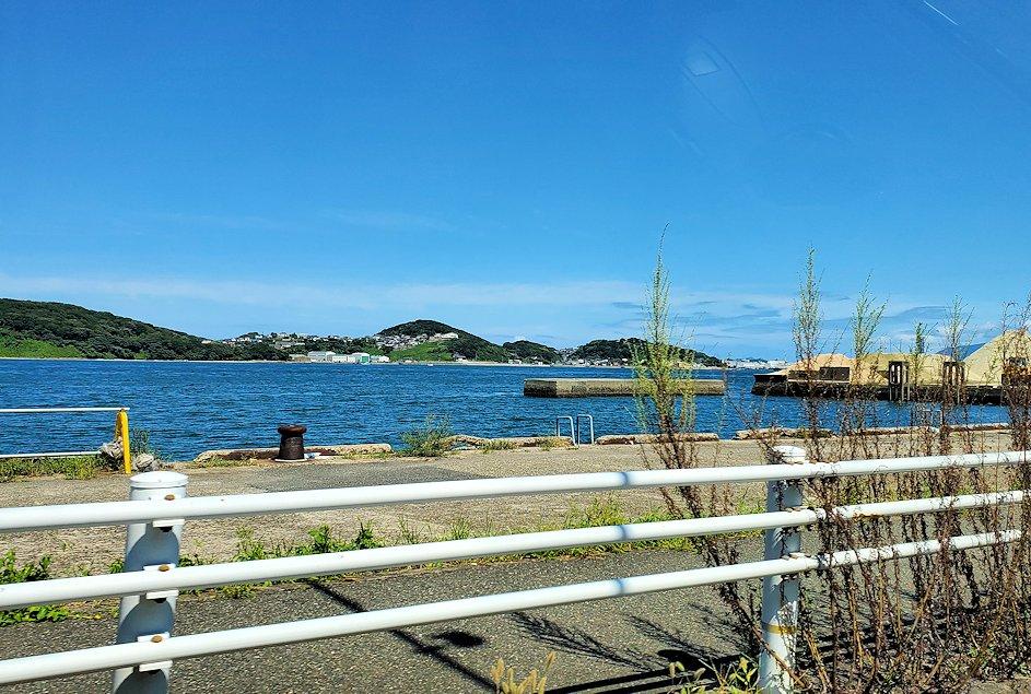 北九州市小倉駅から、門司港付近へと向かう車の中から見えた景色-8