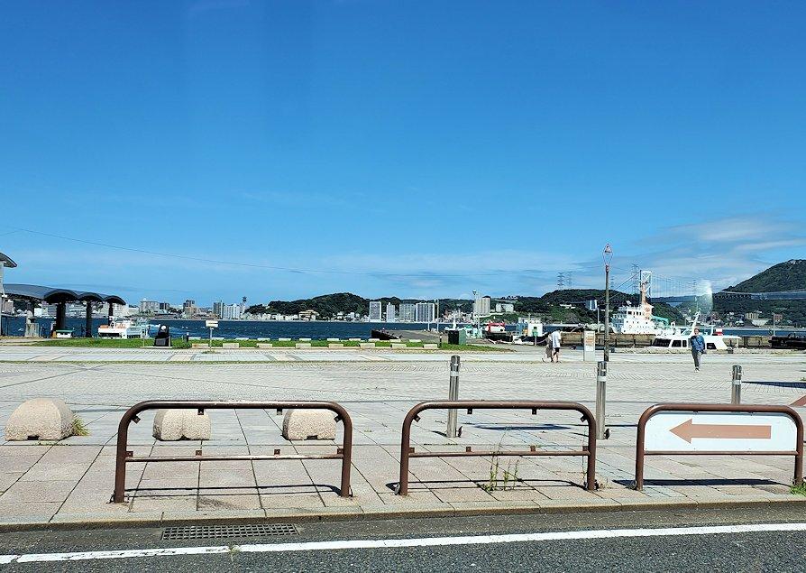 北九州市門司港付近の景色