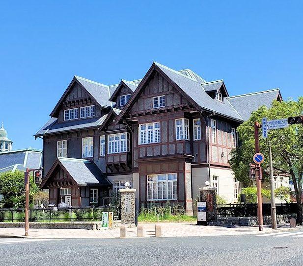 北九州市門司港付近にある「旧門司三井倶楽部」跡の建物