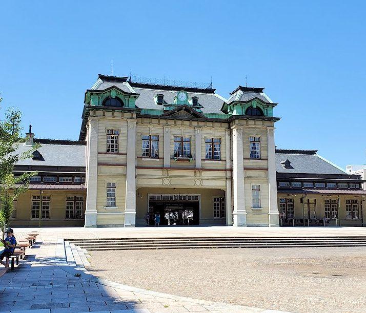 北九州市門司港にある、「門司港」駅の写真