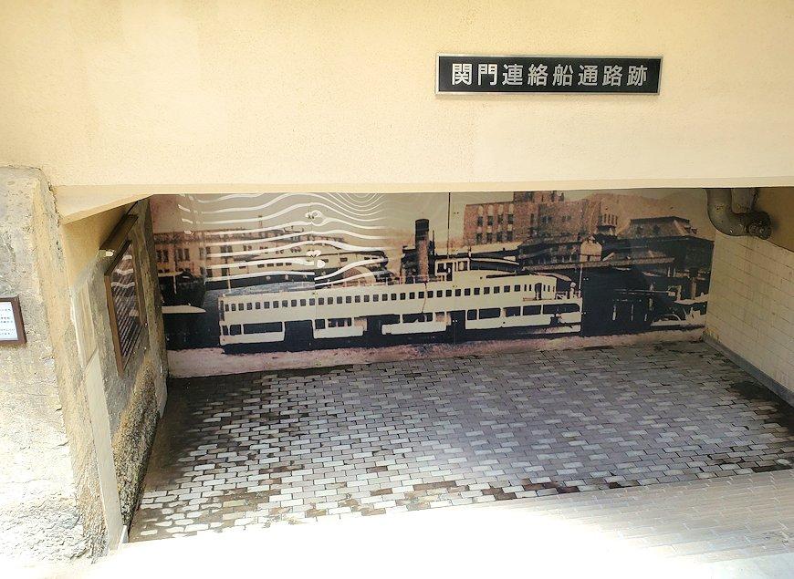 北九州市門司港にある、門司港駅の構内にある船の監視穴